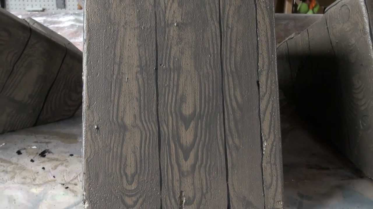 Paint faux wood grain youtube - Making a steel door look like wood ...