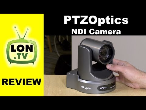 PTZOptics 12X NDI PTZ Streaming / Broadcast Camera Review -