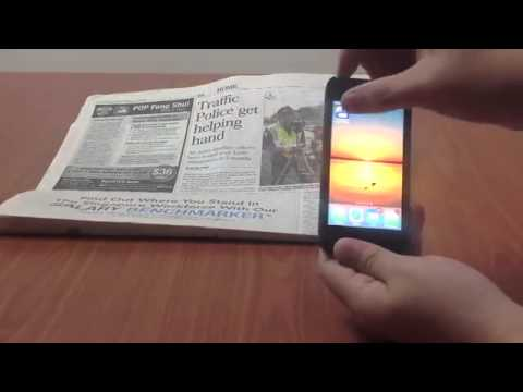 Augmented Reality - NewsPaper