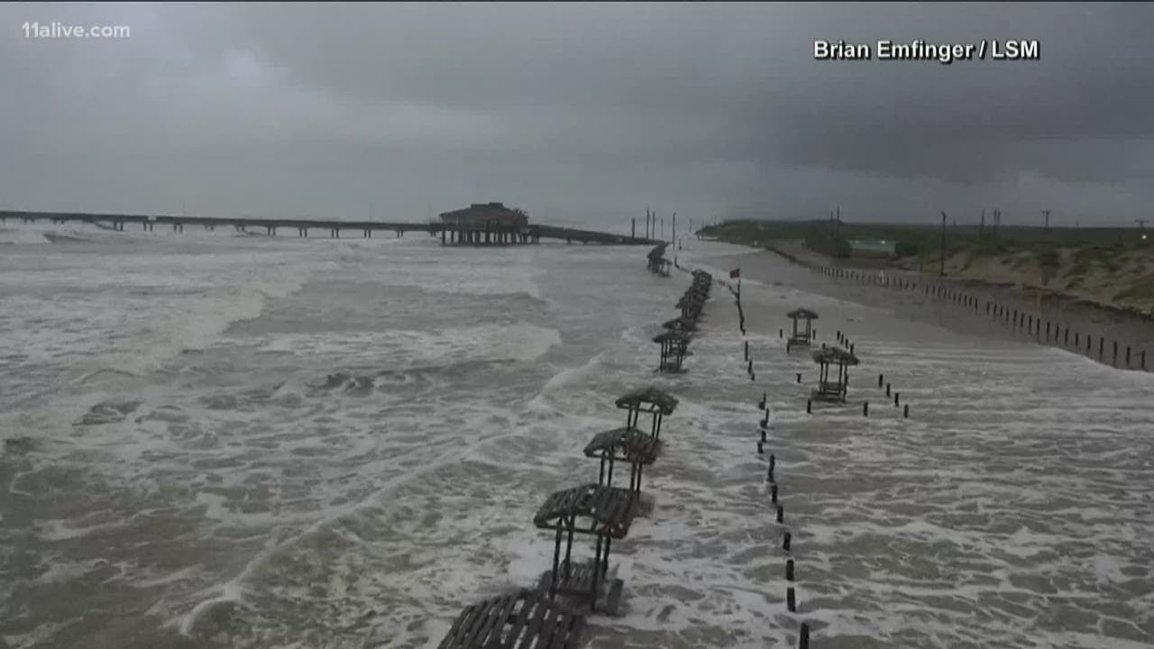 Hurricane Hanna makes landfall in Texas