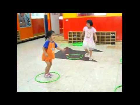 K3 Girls PE Class