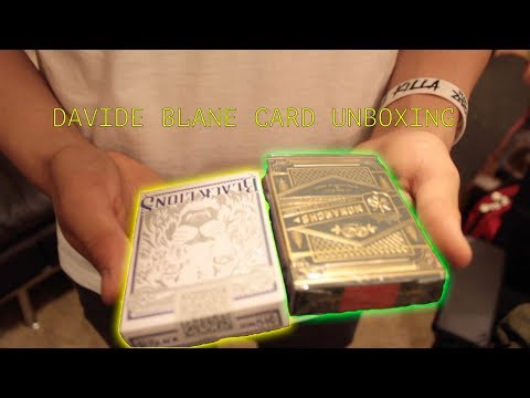 (Green) Monarchs and Black Lions Playing Cards Unboxing!