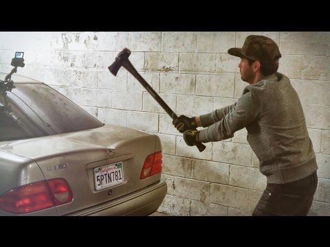 Axe vs Mercedes!!!