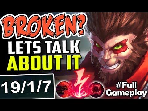 BROKEN? LETS TALK ABOUT IT   New Runes Wukong vs Master Yi TOP   NEW RUNES SEASON 8 Full Gameplay