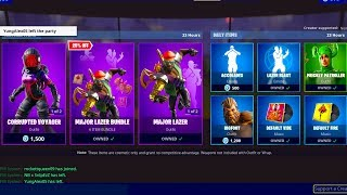 LA BOUTIQUE D'ARTICLES FORTNITE NEW' AUJOURD'HUI EN DIRECT DÈS MAINTENANT! (23 août NEW FREE SKINS)