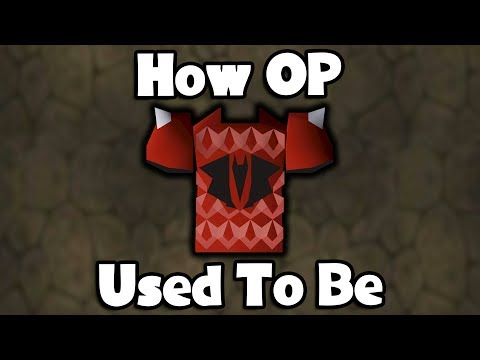 How OP Dragon Chainbody Used To Be - OSRS