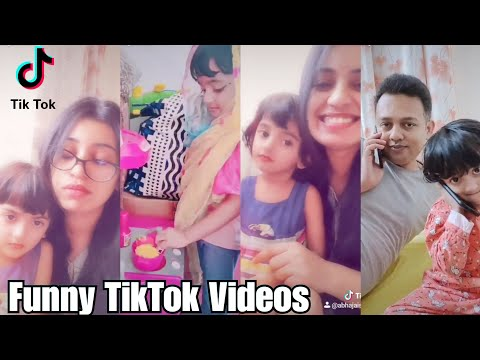 Cute Baby Funny TikTok Videos | TikTok fun with Mom and Dad | Quarantine Fun