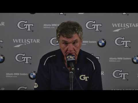 #WAKEvsGT: Coach Paul Johnson Post-Game Press Conference (10-21-17)