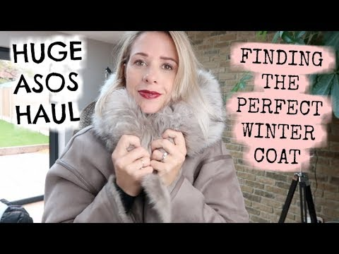 FINDING THE PERFECT WINTER COAT | AUTUMN / WINTER ASOS HAUL | KERRY WHELPDALE