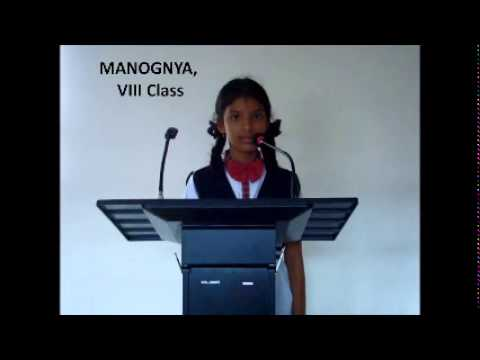 Akshara School 8th Class Students Self Introduction - YouTube