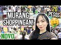 MURANG SHOPPINGAN SA CALOOCAN! | Novo Monumento Vlog