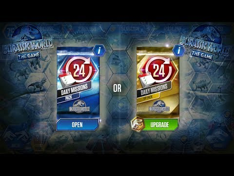 DINOSAURS BATTLE - DAILY MISSIONS PACK - ARE YOU COMPLETE? || Jurassic World The Game