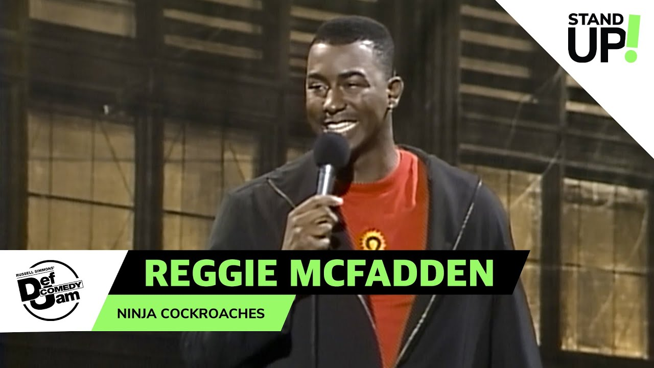 Reggie McFadden Talks Living In The Projects | Def Comedy Jam | Laugh Out Loud Network