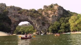 Ardèche - Entrée des gorges de l'Ardèche
