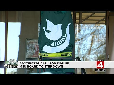 MSU students call for John Engler, Board of Trustees to step down
