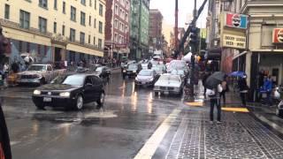Cars Backing Up on Ant-Man Set