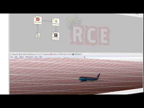 RCE - Graphical User Interface - Fly Through