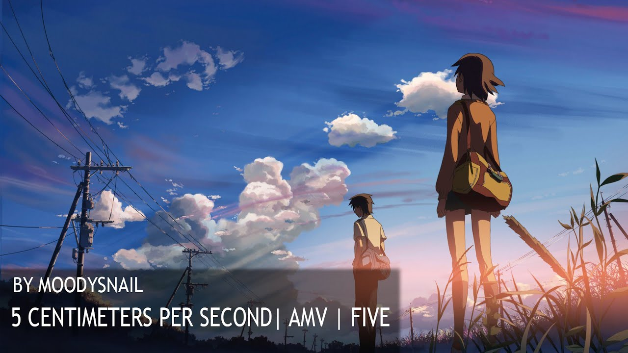 5 Centimeters Per Second Amv Five By Moodysnail