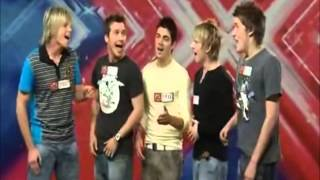 Max George - XFACTOR audition