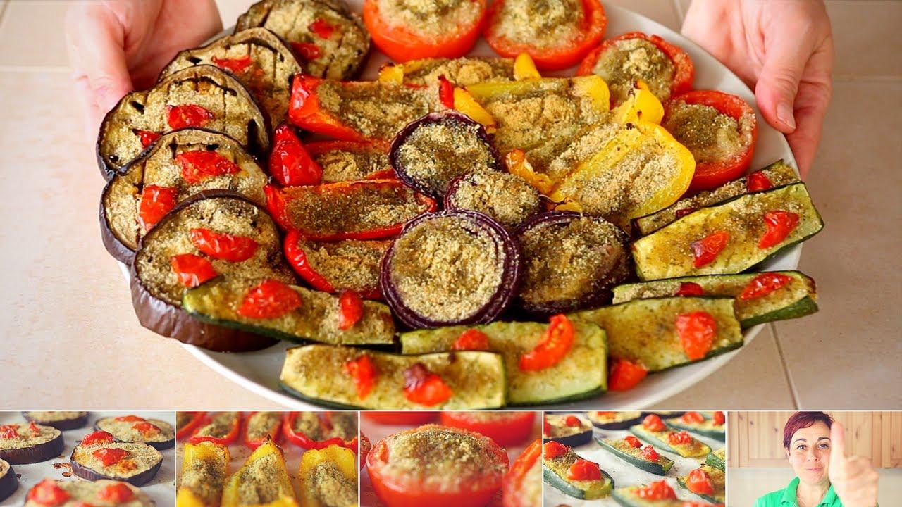 Verdure gratinate ricetta facile pomodori zucchine me for Cucinare zucchine al forno