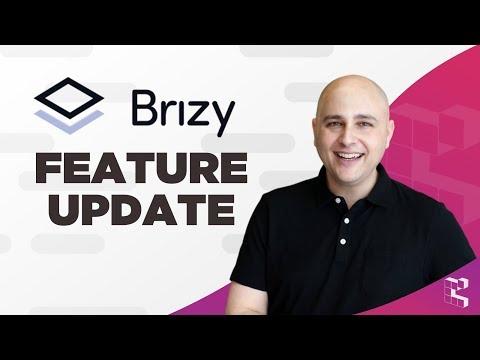 Brizy Tutorial - Drop Shadow, Role Editor, Menu System Brizy WordPress Page Builder