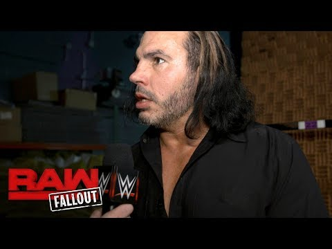 Matt Hardy is reaching his breaking point: Raw Fallout, Nov. 20, 2017