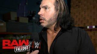 Matt Hardy is reaching his breaking point: Raw Fallout, Nov. 20, 2017