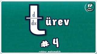 TÜREV 4  Bebek Adımları   Rehber Matematik bebekadımları