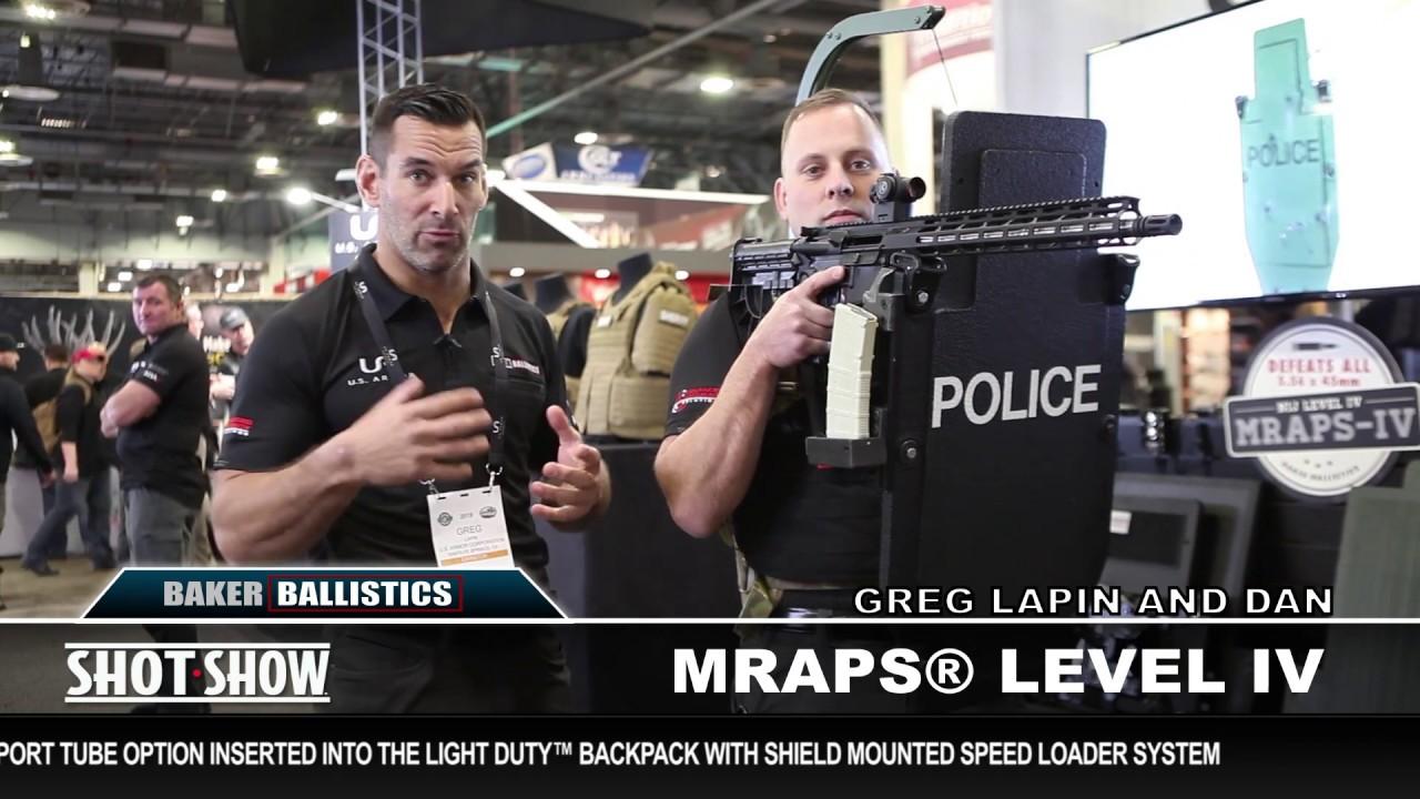 Baker Ballistics MRAPS® Series at SHOT Show 2019