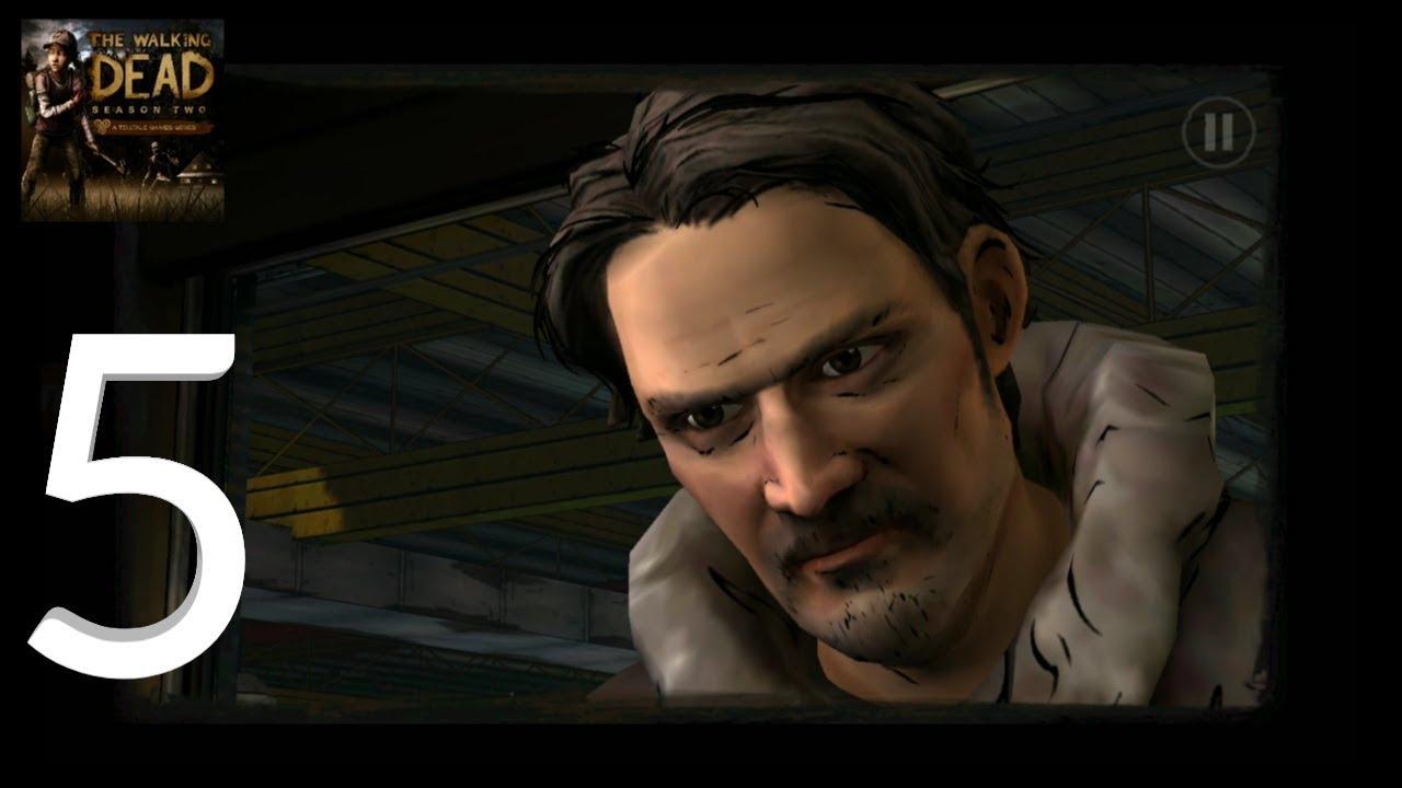 The Walking Dead: Season Two - iOS / Android - Episode 3 Gameplay  Walkthrough Part 5