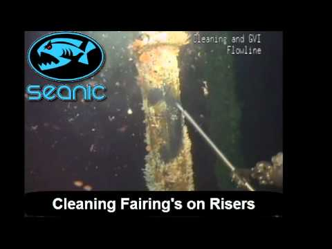 Seanic Ocean Systems ECB Fairing Cleaning
