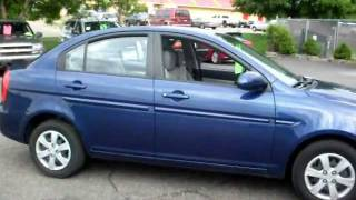 2008 Hyundai Accent GLS, 4 door sedan, 1.6 liter 4cyl, Automatic, Air conditioning