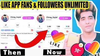 HOW TO GET FAN & FOLLOWERS ON LIKE APP TUTORIAL IN HINDI | LIKE app pe fans kaise badhaye TRICK 2018