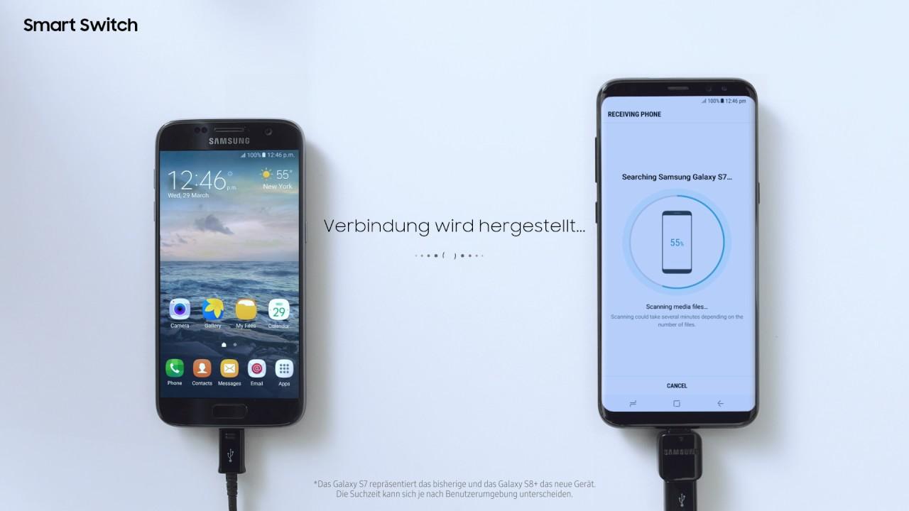 Samsung Smart Switch Tutorial Einfach Daten Ubertragen Youtube