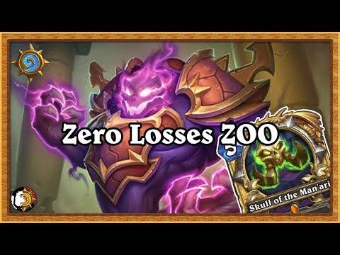 Hearthstone: Zero Losses Rank 9 To 7 - Zoo Warlock