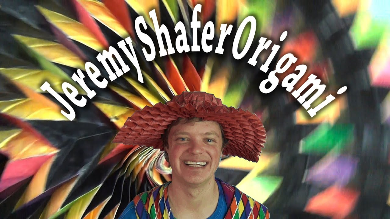 Welcome to Jeremy Shafer Origami Channel! - YouTube - photo#29