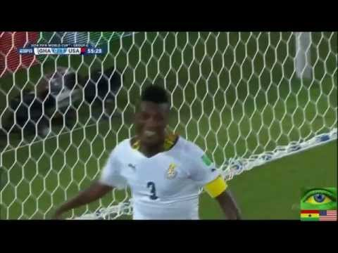 FIFA World Cup 2014   Ghana vs  USA Highlights