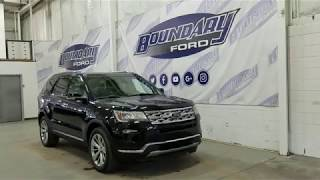 2018 Ford Explorer Limited 300A W/ 3.5L, Command Start Overview I Boundary Ford