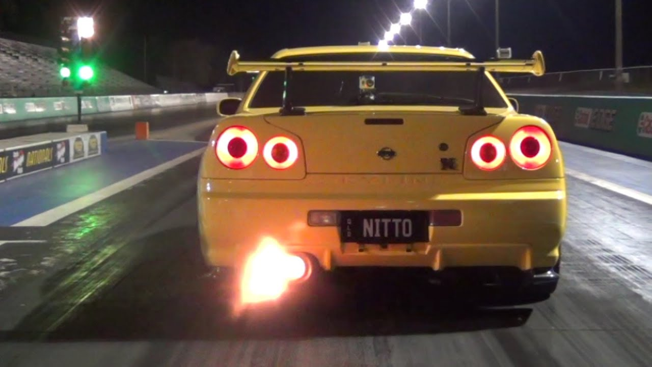 Hd Tune Up Cars Wallpaper Nitto 10 1 154 Mph Nissan Skyline R34 Test N Tune