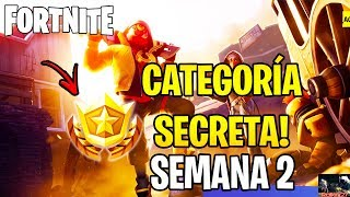 CATEGORY SECRET WEEK 2 SEASON 10-FORTNITE SEASON X