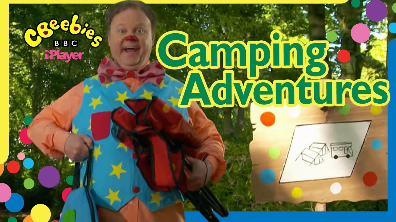 Mr Tumble's Camping Adventures 🏕  CBeebies