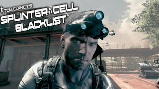 Splinter Cell Blacklist: Perfectionist Stealth Gameplay