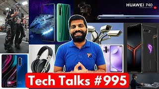 Tech Talks #995 - Redmi K30 5G, Realme X2 Star wars Launch, AirTel WiFi Calling, Huawei P40 Leak