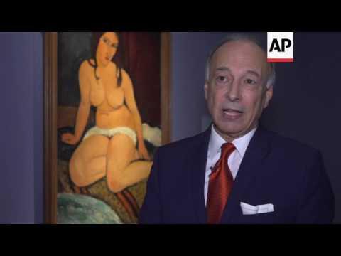 Exhibit explores the career of Italian painter Modigliani