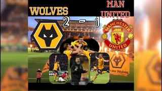 Wolves 2 - 1 Man United| My Match Highlights| (02/04/19)| What a match!!!