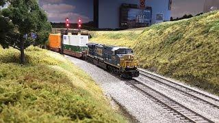 model railroad update cab ride