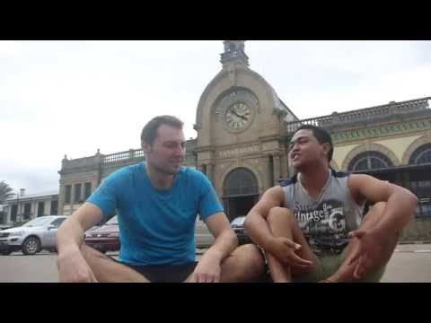 Madagascar Antananarivo train station without trains...
