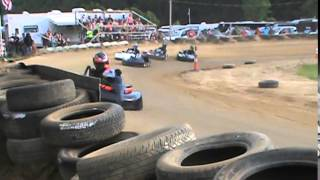 Double Deuce Karting Media/2 Brothers Raceway 7/18/15 Heavy Heat 1a