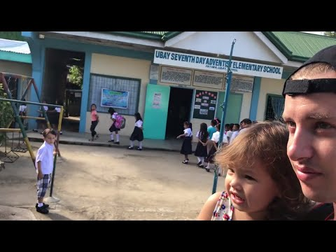 Part 1 Half Filipino-American Kids First Day of School in Bohol, Philippines -