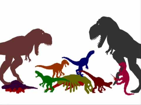 The Deadly Tyrannosaurus